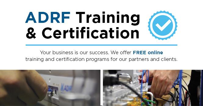 ADRF Training & Certification