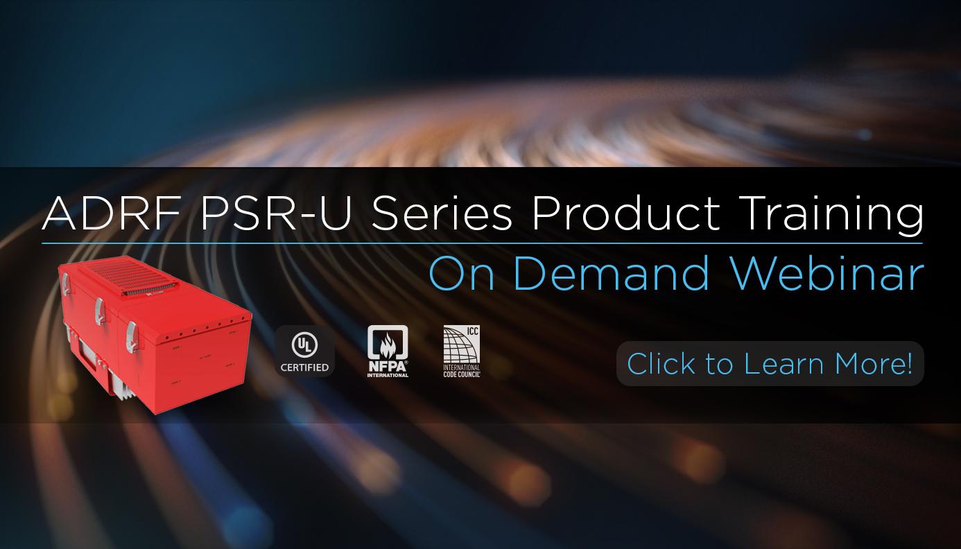 PSR-U Series Product Training Webinar