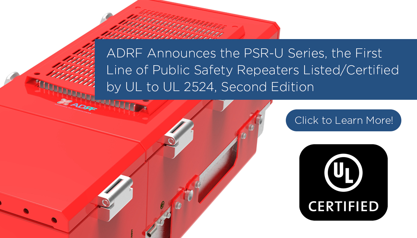 PSR-U Series First line Listed/Certified by UL to UL 2524