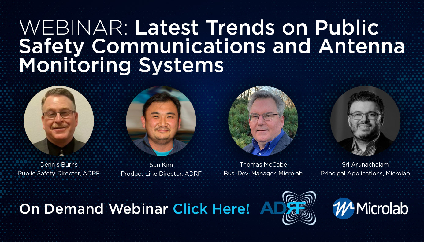 See Our Newest March Webinar with Speakers from ADRF and Microlabs
