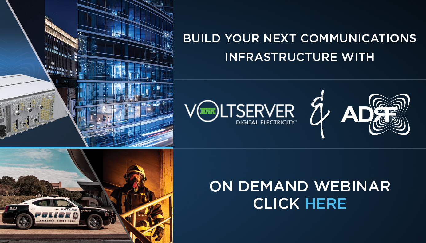 Build your next communications infrastructure with VoltServer and ADRF